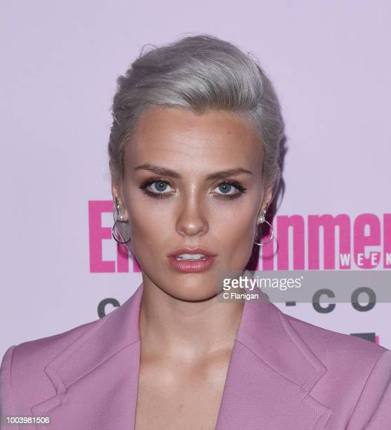 Wallis Day attends the annual Entertainment Weekly ComicCon Celebration at Float at Hard Rock Hotel San Diego on July 21 2018 in San Diego California