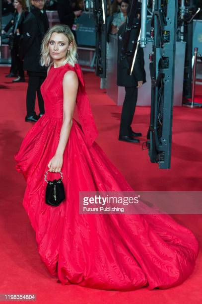 Wallis Day attends the EE British Academy Film Awards ceremony at the Royal Albert Hall on 02 February, 2020 in London, England.- PHOTOGRAPH BY...