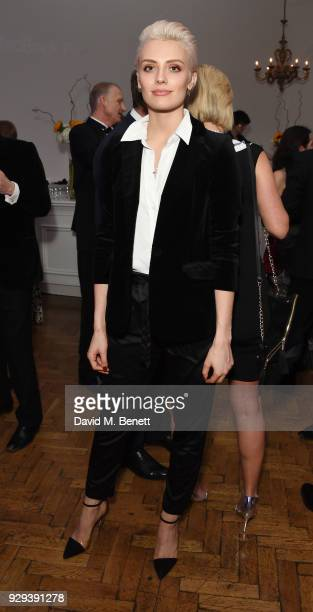 Wallis Day attends the Hope and Homes for Children 'Once Upon A Time Ball' at One Marylebone on March 8 2018 in London England
