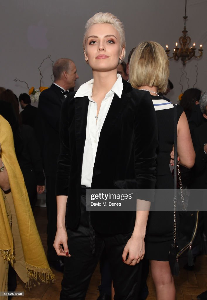 Wallis Day attends the Hope and Homes for Children 'Once Upon A Time Ball' at One Marylebone on March 8, 2018 in London, England.