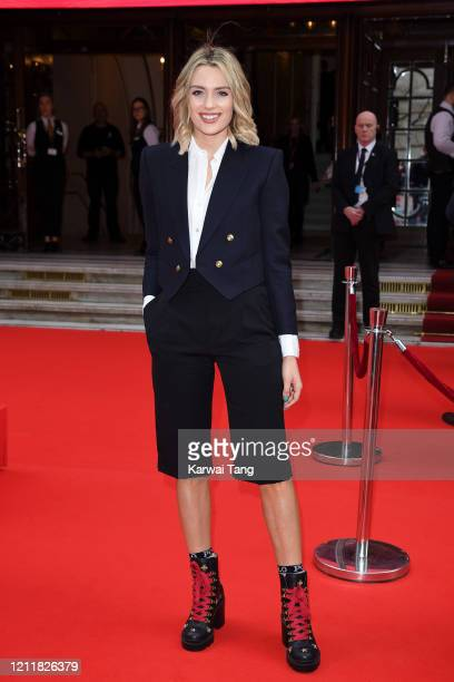 Wallis Day attends the Prince's Trust And TK Maxx Homesense Awards at London Palladium on March 11 2020 in London England