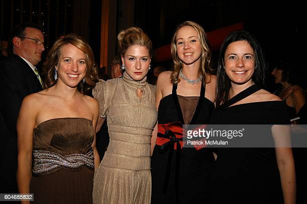 Wallis Graham Julie Macklowe Anna Benson and Dahlia Loeb attend Metropolitan Opera Opening Night Dinner at Lincoln Center on September 25 2006 in New...