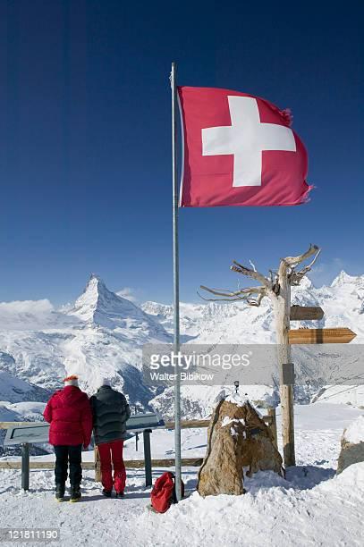 Wallis/Valais, Zermatt, Rothorn, Visitors
