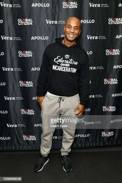 Wallo267 attends Global Citizen Week At What Cost at The Apollo Theater on September 23 2018 in New York City