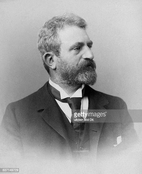 Wallot Paul Architect Germany Builder of the Reichstag in Berlin Portrait 1896 Photographer Wilhelm Fechner Published by 'Berliner Illustrirte...