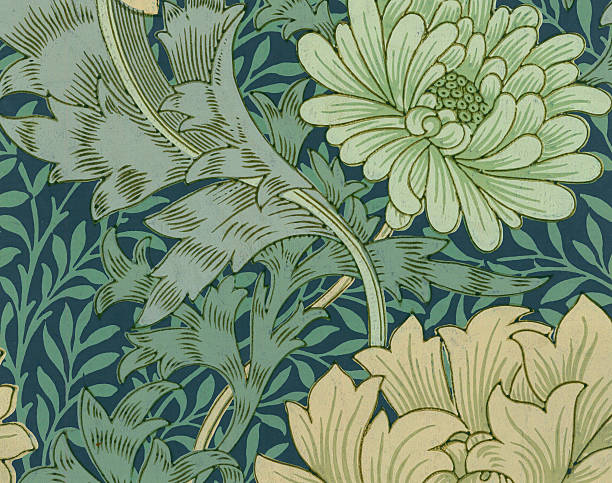 Wallpaper With Chrysanthemum
