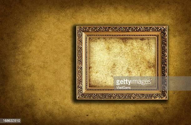 Hintergrund mit leeren Bilderrahmen