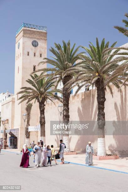 walls in essaouira, morocco - castle wall stock pictures, royalty-free photos & images