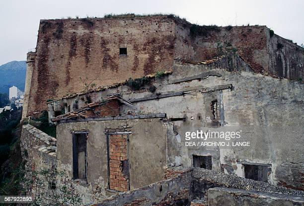 Walls of Kasbah Fort Bejaia Algeria 12th16th century