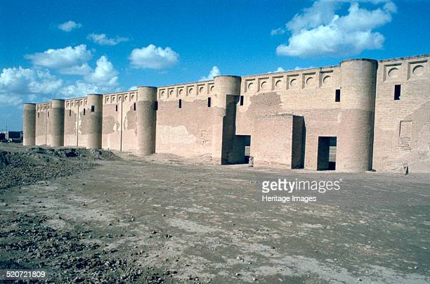 Walls of the Friday Mosque Samarra Iraq 1977
