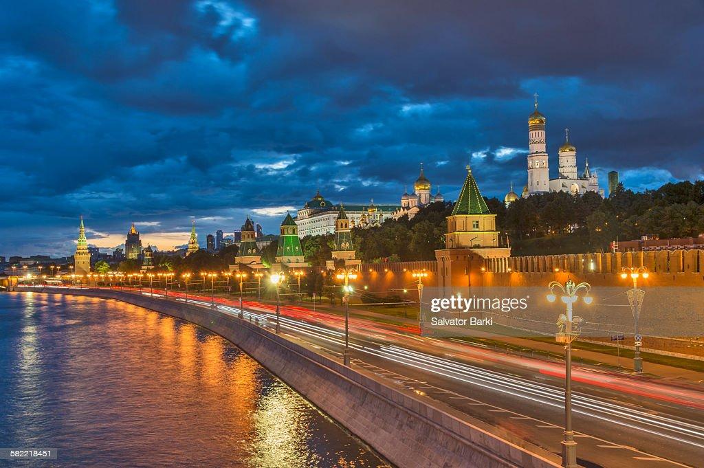 Walls of The Kremlin : Stock Photo