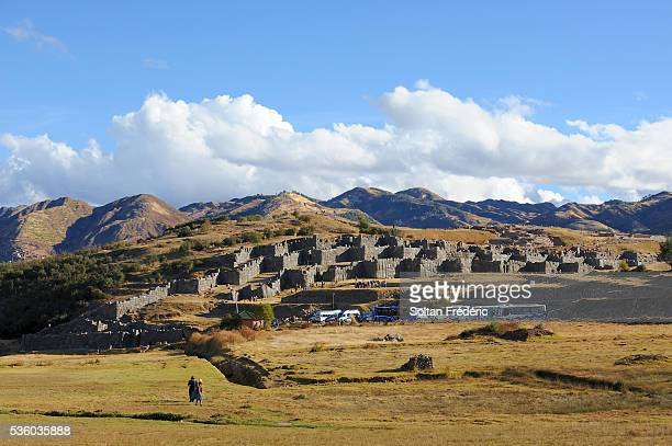 Walls of the Sacsayhuaman complex