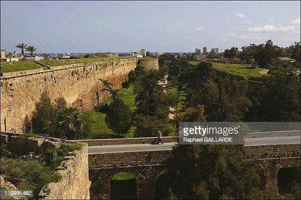 Walls of Varosha, the old city of Famagusta and the only quarter which is still inhabited