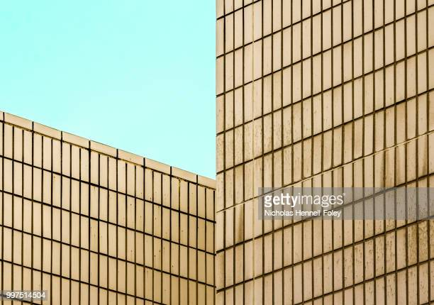 walls - barbican centre london stock pictures, royalty-free photos & images