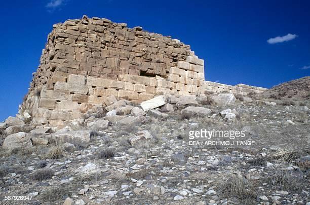 Walls ruins of Pasargadae Iran Achaemenid civilisation 6th century BC