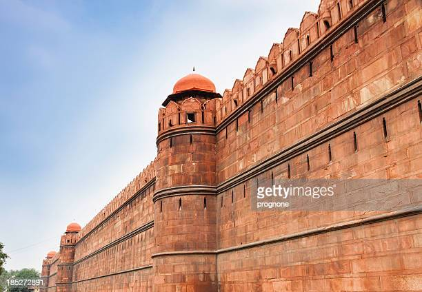Walls surrounding the Red Fort, Delhi
