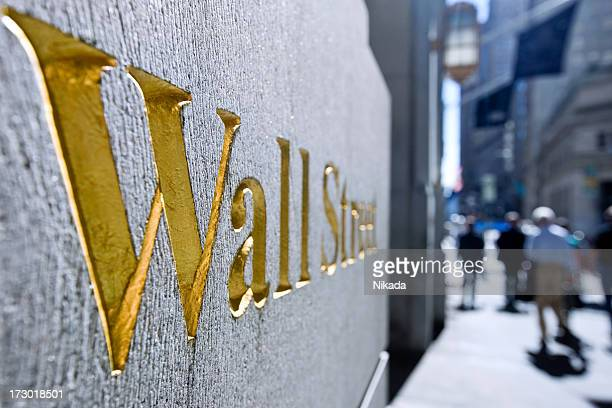 wallstreet, new york - new york stock exchange stock pictures, royalty-free photos & images