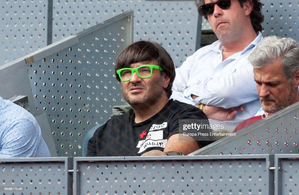 Day 4 - Celebrities Attend Mutua Madrid Open : News Photo