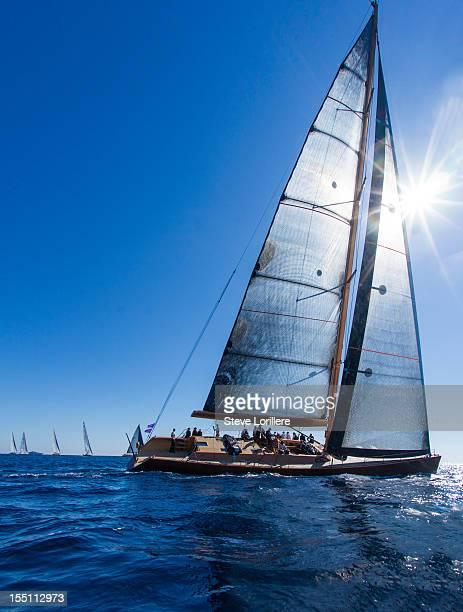 Wally sailing yacht