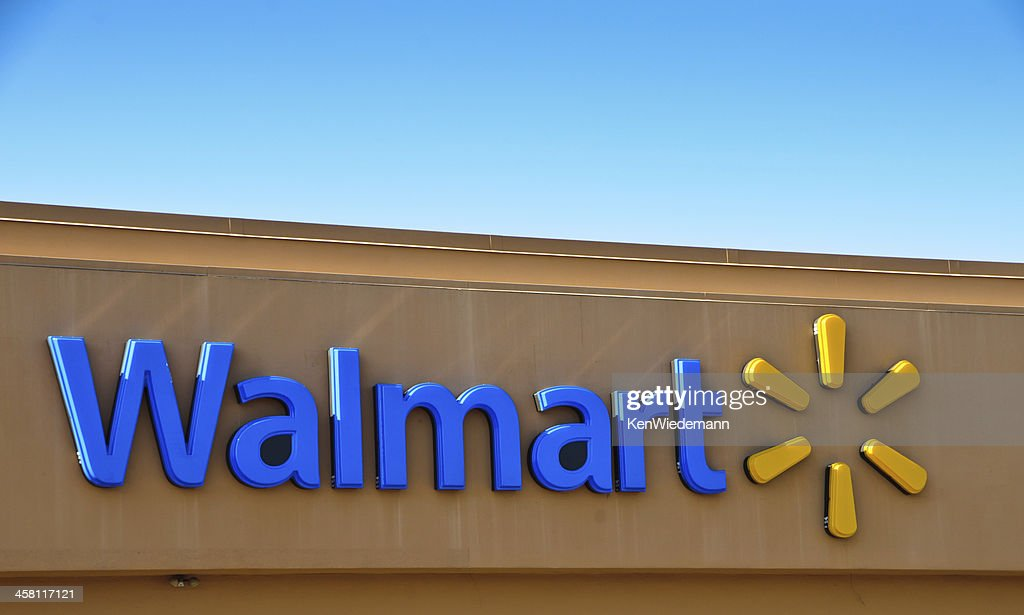 Walmart  Corporate Logo : Stock Photo