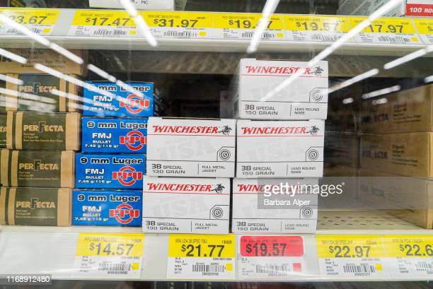 Walmart in Fort Worth selling a variety of ammunition Texas 26th June 2015