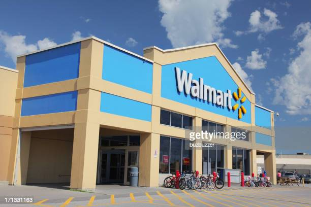 Walmart Store Building Exterior