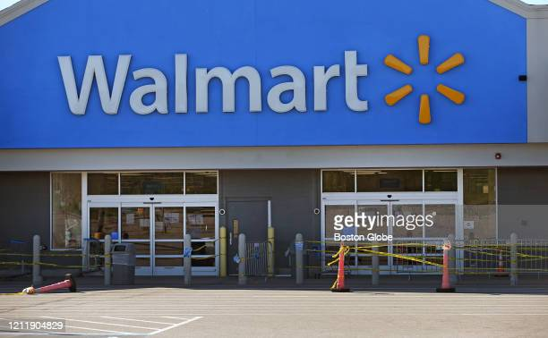 Walmart store in Quincy, MA, pictured on May 5 has now closed after a worker died due to COVID-19.