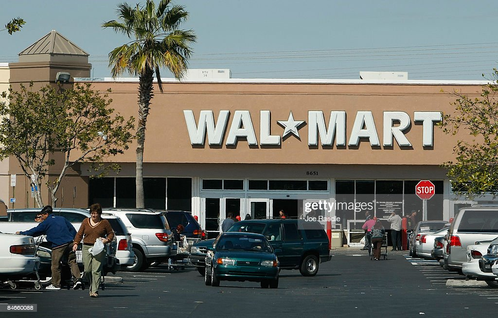 A Wal-Mart store is seen on February 5, 2009 in Miami, Florida
