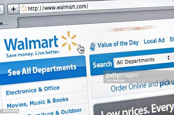 ウォルマートのウェブサイト - ウォルマート ストックフォトと画像