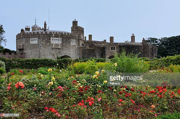 walmer castle - kent england stock pictures, royalty-free photos & images