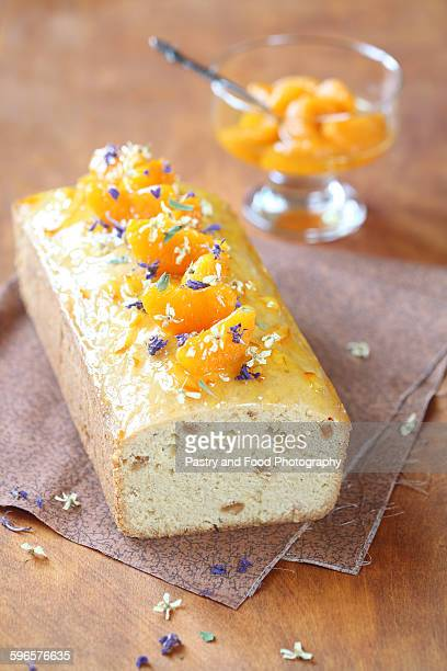 Walnut Cake with Tangerines and Orange Jam