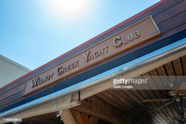 walnut creek yacht club - gado stock photos and pictures