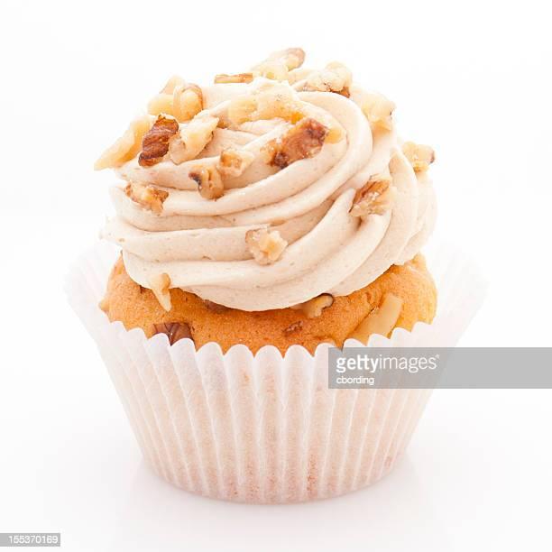 Walnut cupcake