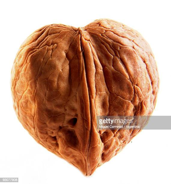 Walnut heart-shaped