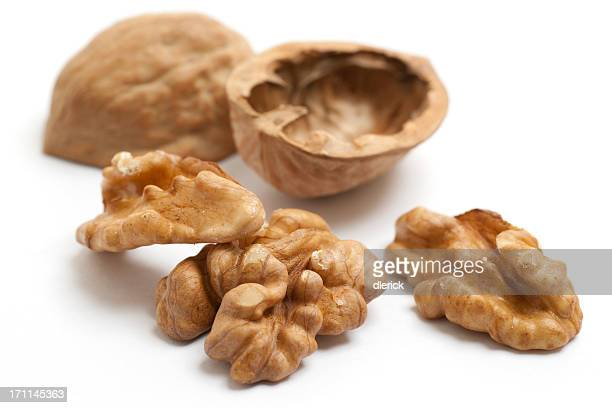 walnut shelled