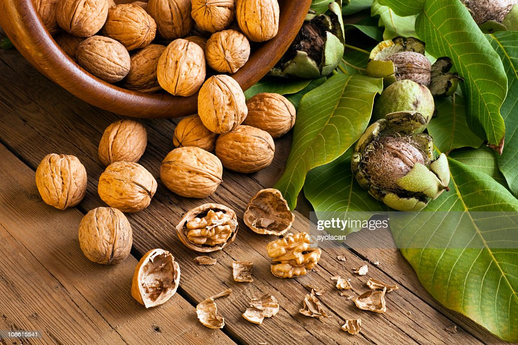 Walnuts : Stock Photo
