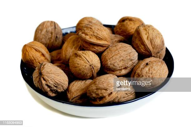 walnuts - carolafink stock pictures, royalty-free photos & images