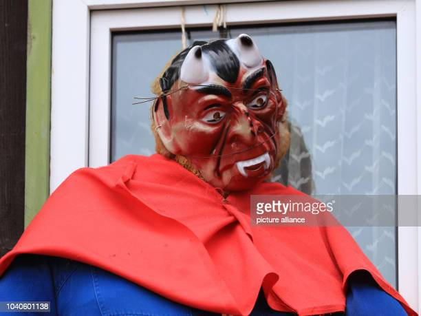 Walpurgis Night witch doll pictured in the town of Schierke in the Harz Mountains Germany 26 April 2017 The traditional Walpurgis Night will take...