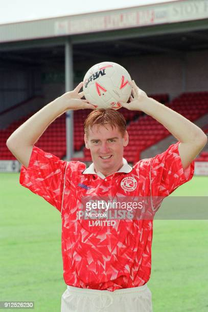 Walsall FFC Pre Season Photocall 30th July 1993 Dean Smith Walsall FC Player 1989 to 1994 142 senior appearances 2 goals