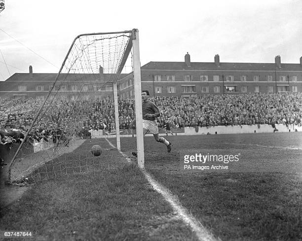 Walsall goalkeeper John Christie goes to retrieve the ball from the back of net following a Queens Park Rangers goal