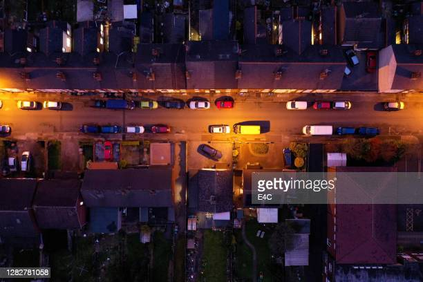 walsall, west midlands, uk, aerial view - royal blue stock pictures, royalty-free photos & images