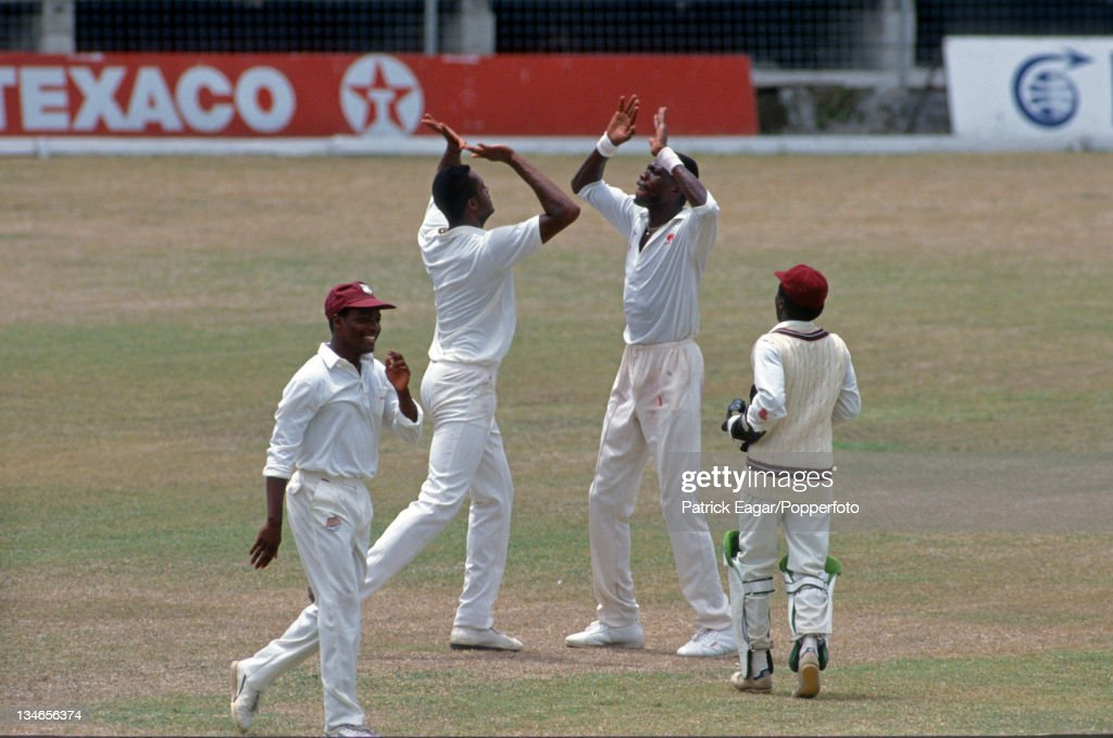 West Indies v South Africa, 1st Test, Bridgetown, Apr 92 : News Photo