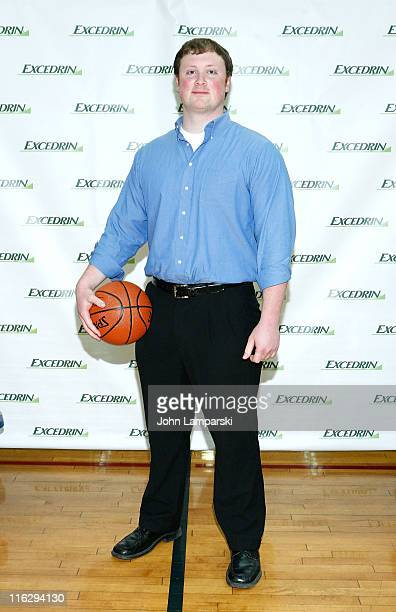 Walt Arnett attends the Excedrin What's Your Headache Contest sports charity launch>> at Chelsea Piers Sports Center on June 15 2011 in New York City