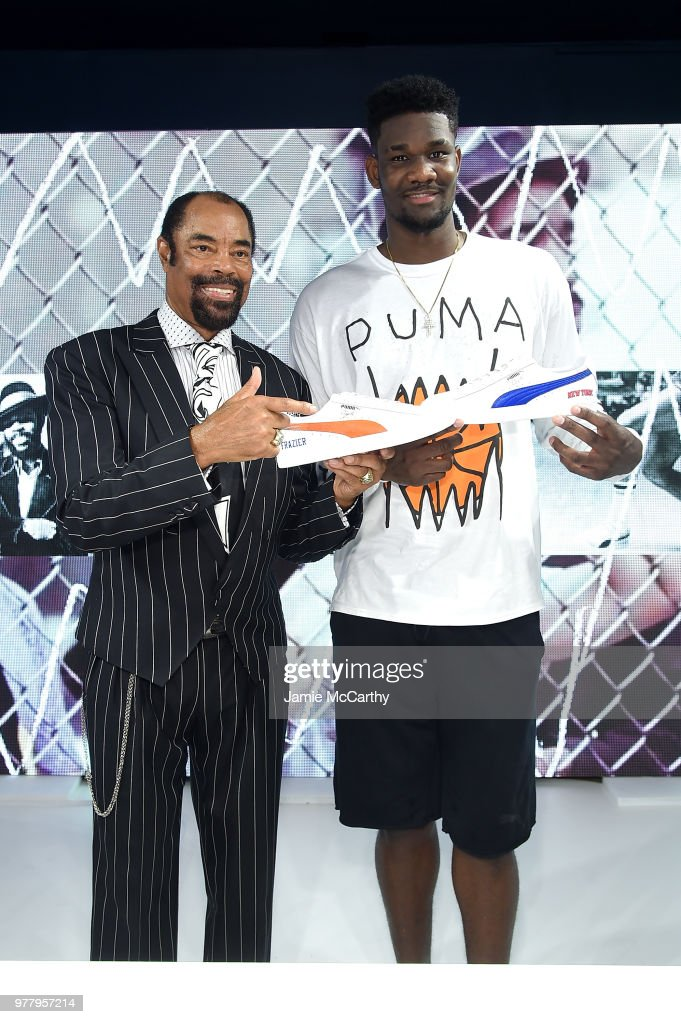 be528dfb7731c7 PUMA Signs First Ever Life Long Contract With Basketball Legend Walt  Clyde   Frazier