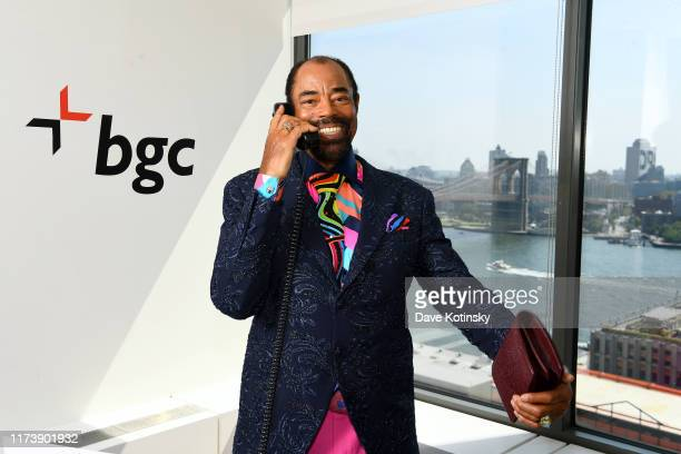 "Walt ""Clyde"" Frazier attends Annual Charity Day Hosted By Cantor Fitzgerald, BGC and GFI - BGC Office – Inside on September 11, 2019 in New York City."