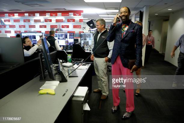 """Walt """"Clyde"""" Frazier attends Annual Charity Day Hosted By Cantor Fitzgerald, BGC and GFI - BGC Office on September 11, 2019 in New York City."""