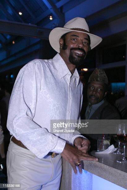 "Walt ""Clyde"" Frazier during Grand Opening of Earl Monroe's Restaurant in New York City - October 31, 2005 at Earl Monroe's in New York City, New..."