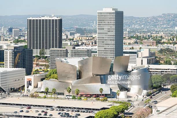 Walt Disney Concert Hall aerial view
