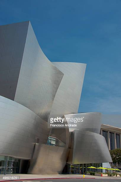 Walt Disney Concert Hall in downtown Los Angeles, California.