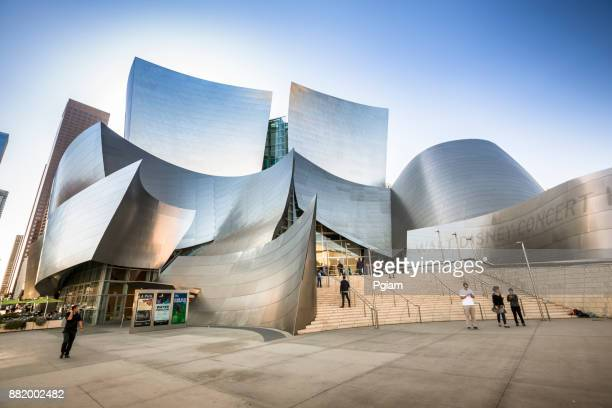 Walt Disney Concert Hall in downtown Los Angeles California USA